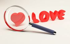 Free Focus On Love Royalty Free Stock Photography - 9975957