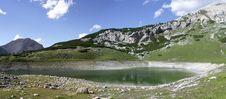 Limo Lake (Dolomites) Stock Images