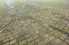 Free Pavement With Trackage Royalty Free Stock Photo - 9976845
