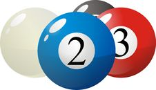 Free Pool Balls Stock Images - 9977364