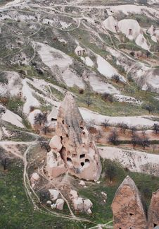 Free One Of Cappadocian Stone Houses Stock Photo - 9978020