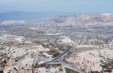 Free Cappadocia Landscape. Turkey Royalty Free Stock Photo - 9978025