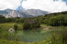 Free Lake Mountains Landscape Stock Photography - 9978942