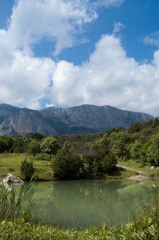 Free Lake Mountains Landscape Stock Photography - 9978962