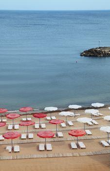 Free Empty Beach Stock Photo - 9979110