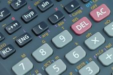 Free Scientific Calculator Royalty Free Stock Images - 9979169