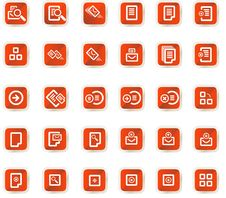 Free Vector Icons Set Royalty Free Stock Images - 9979299
