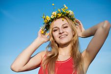 Free Portrait Of Girl Royalty Free Stock Image - 9979346