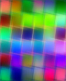 Free Blurred Bright Squares Stock Photo - 9979680