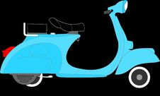 Free Motor Vehicle, Scooter, Mode Of Transport, Vespa Royalty Free Stock Photos - 99751938
