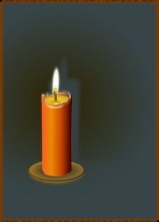 Free Candle, Wax, Lighting, Flameless Candle Royalty Free Stock Image - 99752006