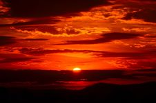 Free Red Sky At Morning, Sky, Afterglow, Sunset Royalty Free Stock Image - 99752576