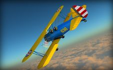 Free Sky, Airplane, Aviation, Air Sports Stock Image - 99753681