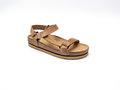 Free Brown Leather Sandal Royalty Free Stock Photo - 9981075