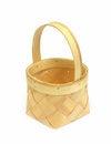 Free Empty Straw Basket Stock Photos - 9981613