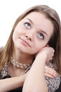 Free Thoughtful Young Girl Stock Image - 9985411