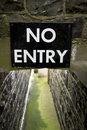 Free No Entry Royalty Free Stock Image - 9986476