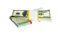 Free Ten Thousand U.S. Dollars And EURO In A Bundle Royalty Free Stock Images - 9989059