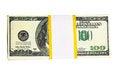 Free Ten Thousand U.S. Dollars In A Bundle Royalty Free Stock Photos - 9989068