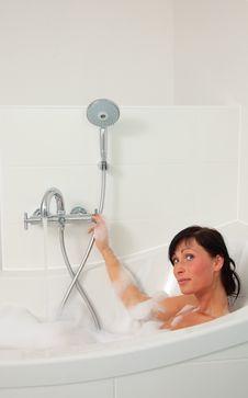 Shower Bath Royalty Free Stock Image