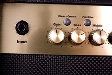 Free Guitar Amp Controls Stock Images - 9982144