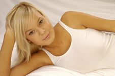 Free Beautiful Blonde Woman Stock Photos - 9982203