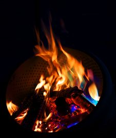 Free Blue Flames Stock Images - 9983174