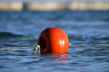 Free Red Sea Buoy Stock Image - 9983771