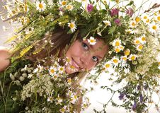 Free Forest Fairy Girl Stock Photography - 9984052