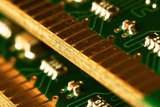 Memory Modules. Stock Images