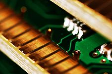 Memory Modules. Stock Photography