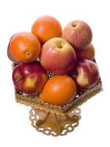 Apples And Mandarins Stock Image