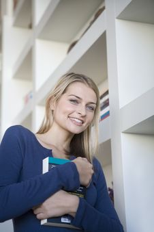 Free Female Student Portrait Stock Image - 9988681