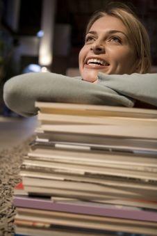 Free Female Student Portrait Stock Image - 9989071