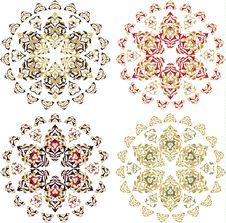 Free Traditional Antique Ottoman Turkish Tile Stock Photos - 9989343