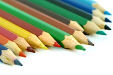Free Colorful Color Pencil Royalty Free Stock Images - 9989479
