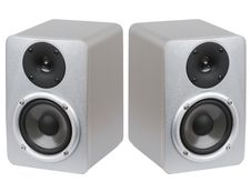 Free Studio Monitor Speakers Stock Image - 9989841