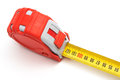 Free Red Tape-measure Royalty Free Stock Images - 9994579