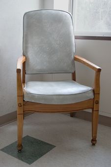 Waiting Room Chair Royalty Free Stock Photography