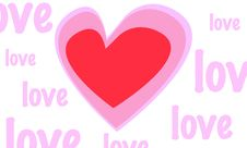 Free Love Background Stock Images - 9990194