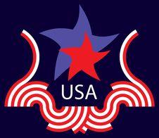 Free Logo USA Royalty Free Stock Images - 9990449