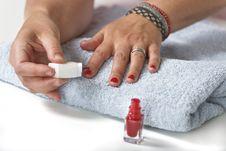 Free Nail Polish Stock Images - 9990704