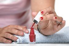 Free Nail Polish Stock Images - 9990714