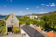 Free Ancient Buildings Of Bergen. Royalty Free Stock Photo - 9991045