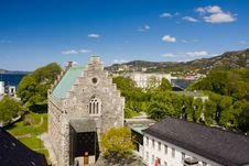 Free Ancient Buildings Of Bergen. Royalty Free Stock Photography - 9991097