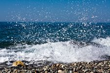 Free Sea Splashes Stock Photo - 9991770