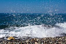 Free Sea Splashes Stock Photo - 9991770