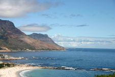 Free Camp S Bay Near Cape Town Stock Photography - 9992112