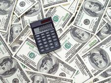 Free Money. Stock Image - 9993301