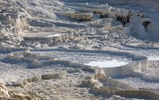 Free Terraces In Pamukkale Royalty Free Stock Images - 9993349